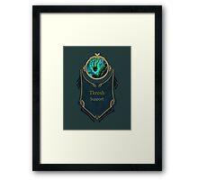 League of Legends - Thresh Banner Framed Print