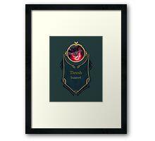 League of Legends - Thresh Banner (Bloodmoon) Framed Print
