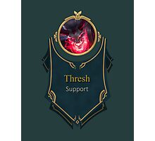 League of Legends - Thresh Banner (Bloodmoon) Photographic Print
