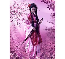 Sakura Princess Photographic Print