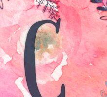 Pretty in Pink - C Sticker