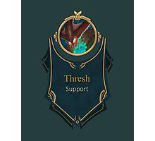 League of Legends - Thresh Banner (Deep Terror) Photographic Print