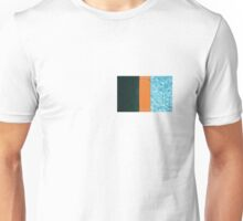 Contrast Pool Tile Unisex T-Shirt