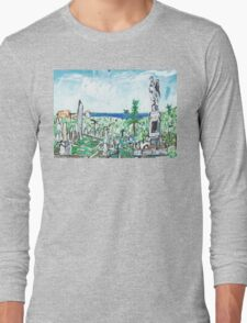 Waverley Cemetery Long Sleeve T-Shirt