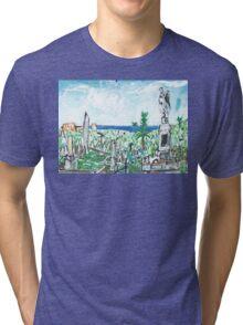 Waverley Cemetery Tri-blend T-Shirt