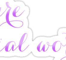 Future Social Worker Sticker
