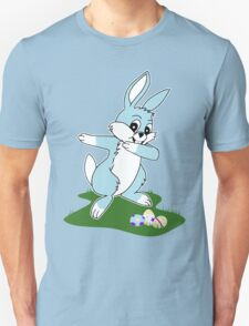 Dab Blue Easter Bunny T-Shirt