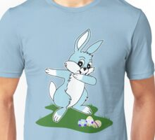 Dab Blue Easter Bunny Unisex T-Shirt