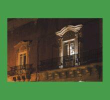 A Glimpse Through the Windows - Sicilian Baroque Palace & Venetian Chandelier Kids Tee