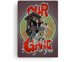 Our Zombie Gang Canvas Print