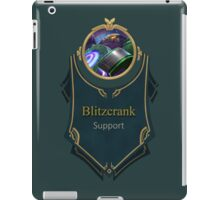 League of Legends - Blitzcrank Banner (Battle Boss) iPad Case/Skin