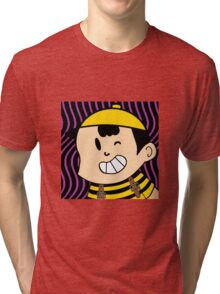 Ness (Bee Theme) Earthbound Tri-blend T-Shirt