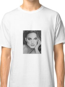 Drawing of Natalie Portman by Florence Lee Classic T-Shirt