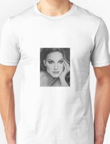 Drawing of Natalie Portman by Florence Lee Unisex T-Shirt