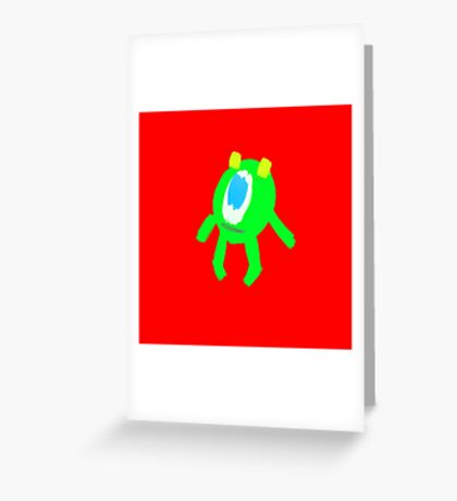 MIKEY Greeting Card