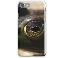 A Little Green Frog iPhone Case/Skin