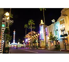 Hollywood Boulevard Photographic Print