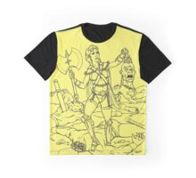 Warrior Woman Graphic T-Shirt