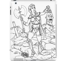 Warrior Woman iPad Case/Skin