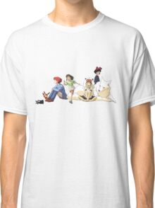 Ghibli Girls Classic T-Shirt