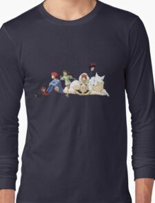 Ghibli Girls Long Sleeve T-Shirt
