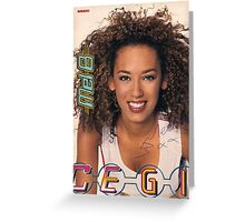 Scary Spice Greeting Card