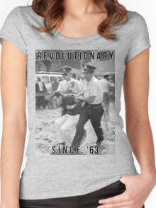 Bernie Sanders - Revolutionary Since '63 Women's Fitted Scoop T-Shirt