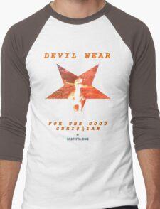 Devil Wear (version 1 collectors) Men's Baseball ¾ T-Shirt