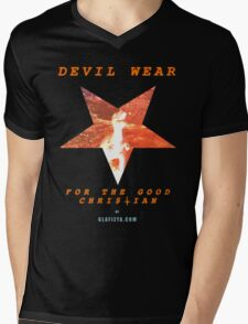 Devil Wear (version 1 collectors) Mens V-Neck T-Shirt