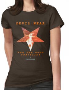 Devil Wear (version 1 collectors) Womens Fitted T-Shirt