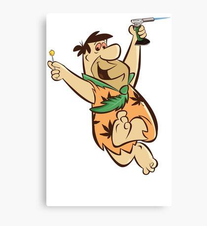 Fred Flintstoner Canvas Print