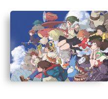 Miyazaki Hayao - Studio Ghibli Canvas Print