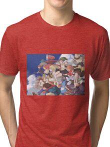 Miyazaki Hayao - Studio Ghibli Tri-blend T-Shirt