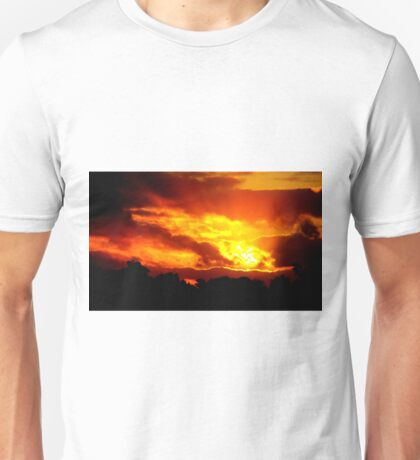 Sunset at Champion Lakes Unisex T-Shirt