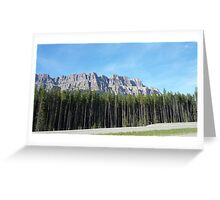 Blue Mont. Greeting Card