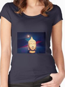 ELAT BUDDHA Women's Fitted Scoop T-Shirt