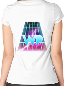 WatchPony - 80's Women's Fitted Scoop T-Shirt