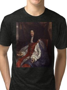 King Charles II of England, Scotland and Ireland (1660-1685) Tri-blend T-Shirt