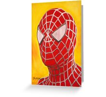 The Amazing Spiderman! Greeting Card