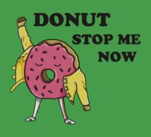 Donut Stop Me Now One Piece - Short Sleeve