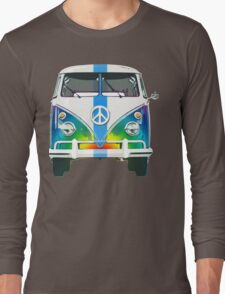 Retro Classic Volkswagen Hippy Van Long Sleeve T-Shirt