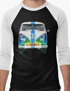 Retro Classic Volkswagen Hippy Van Men's Baseball ¾ T-Shirt