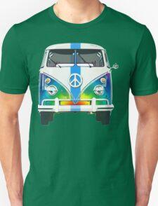 Retro Classic Volkswagen Hippy Van Unisex T-Shirt