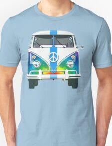 Retro Classic Volkswagen Hippy Van T-Shirt