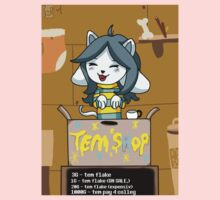 Temmie's Tem Shop!!! One Piece - Short Sleeve
