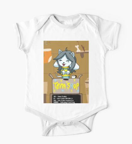 Temmie's Tem Shop!!! One Piece - Short Sleeve