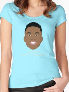 Giannis Pronunciation Women's Fitted Scoop T-Shirt