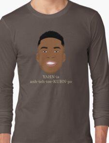 Giannis Pronunciation Long Sleeve T-Shirt