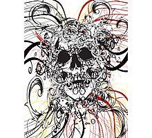 Skull Rush Photographic Print