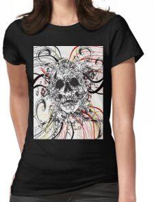 Skull Rush Womens Fitted T-Shirt